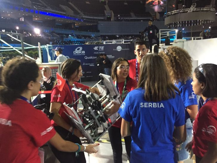 SOLIDWORKS Supports FIRST Global and FRC FTC and FLL Robotics Teams