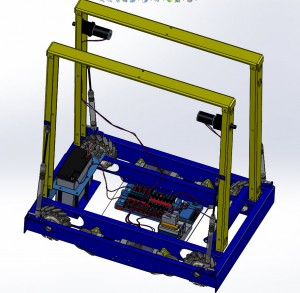 Robot from Blue CheeseIntegrate With Wires in SolidWorks