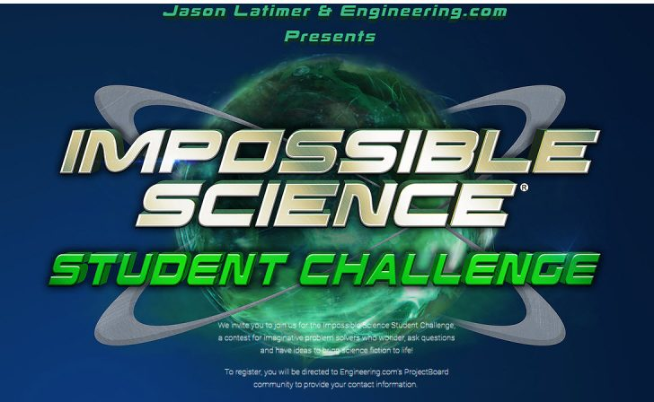 Impossible Science Student Challenge with Jason Latimer and engineering.com
