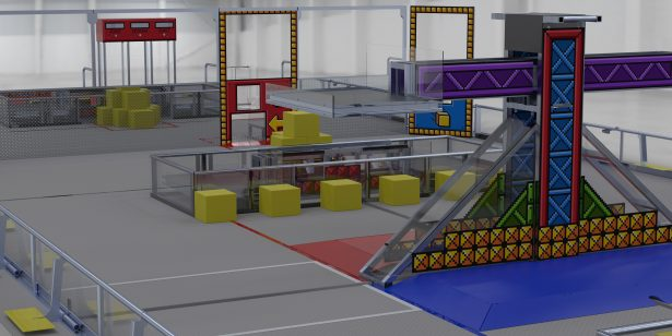 Solidworks Supports First Robotics Competition First Power Up