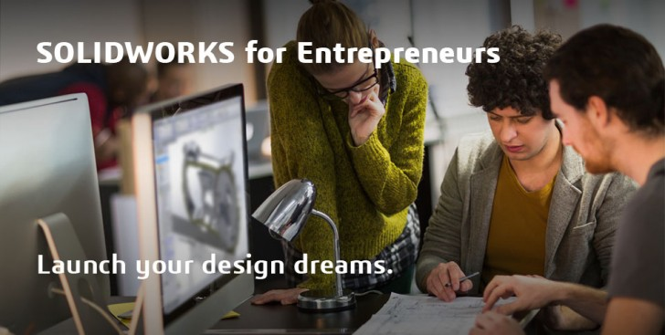 SOLIDWORKS For ENTREPRENEURS Program