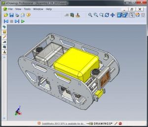 San Diego Robotics eDrawing