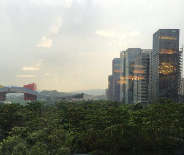 Shenzhen outside Sheraton