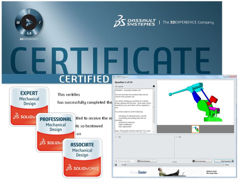SOLIDWORKS FIRST Mentor Certification for FIRST Robotics Teams