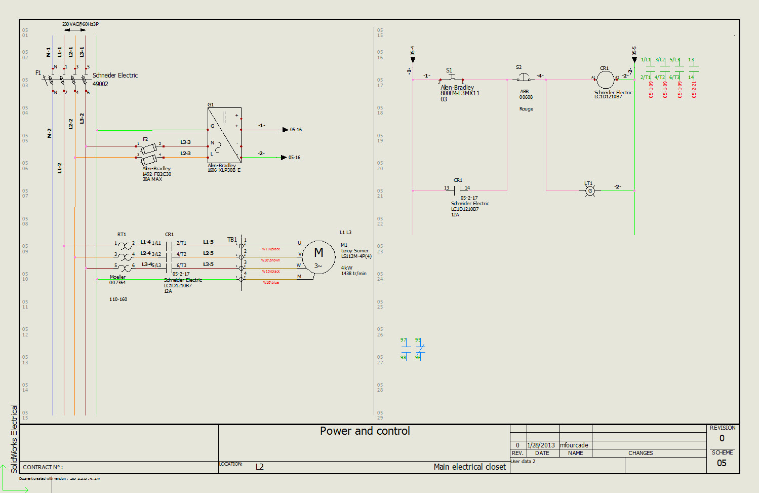 Solidworks Electrical 2d Getting Started Wire Schematic Software