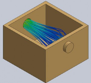 SolidWorks Flow Simulation in Chemical Research