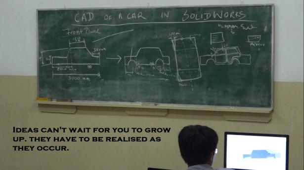 SolidWorks For CAR design