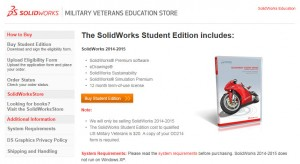 SolidWorks Miltary Veterans Store 2014