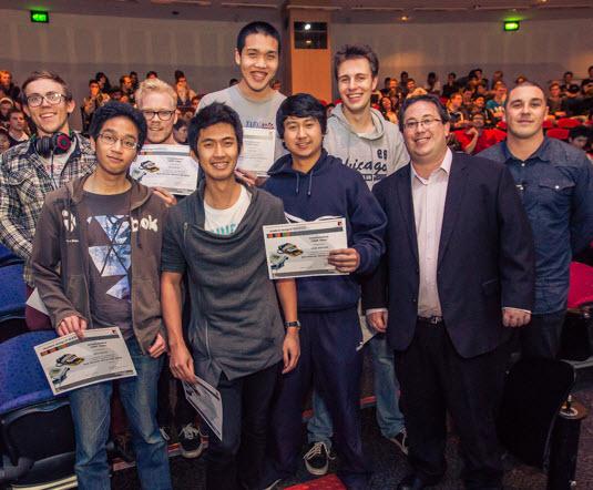 SolidWorks VAR InterCAD Award at Monash University