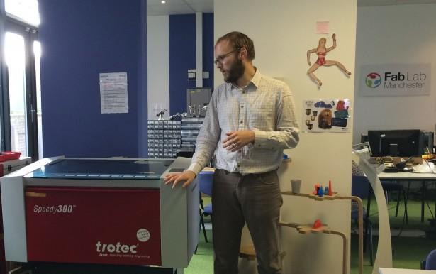 SolidWorks Vists FabLab Manchester David Tour