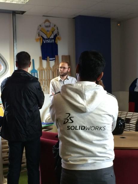 SolidWorks Vists FabLab Manchester David Tour2