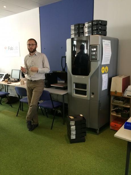 SolidWorks Vists FabLab Manchester David Tour3