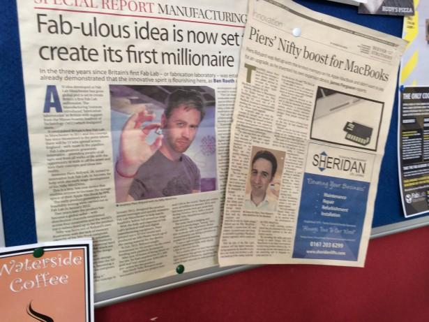 SolidWorks Vists FabLab Manchester Entrepreneur