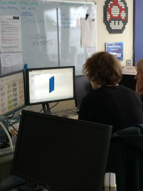 SolidWorks Vists FabLab Manchester Michael