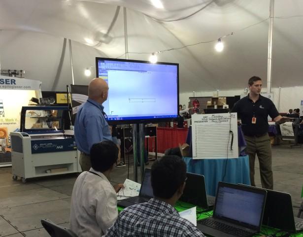 SolidWorks Workshop at Fab11