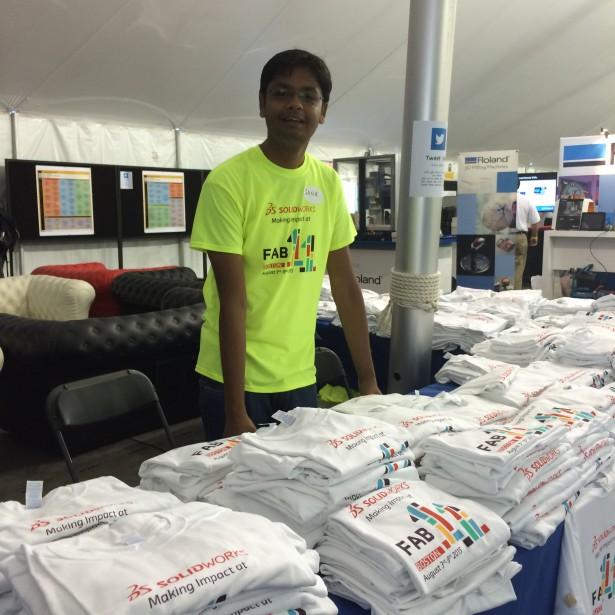 SolidWorks tshirts at Fab11