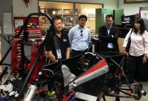 SolidWorks visit NUS FSAE