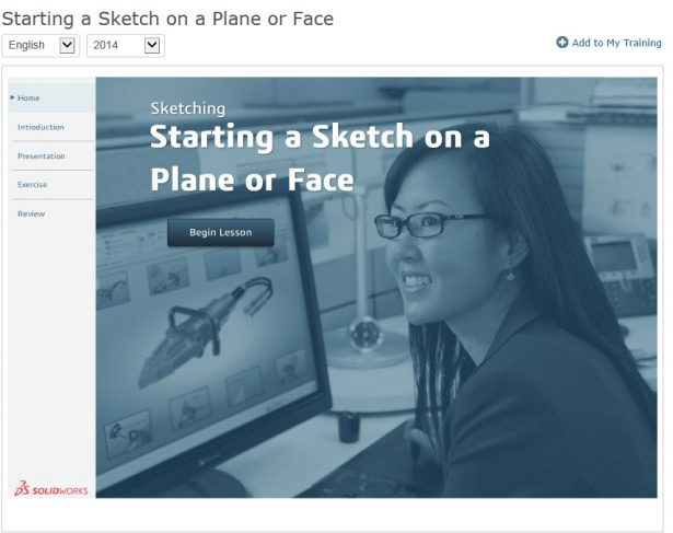 Starting a Sketch on a Plane or Face