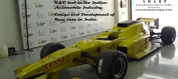 TINSI SHARPS Race Car