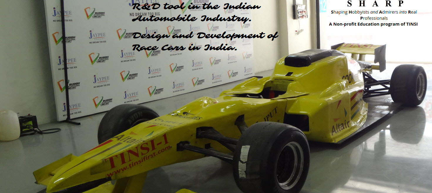 TINSI Race Cars Develops Future Engineers of India