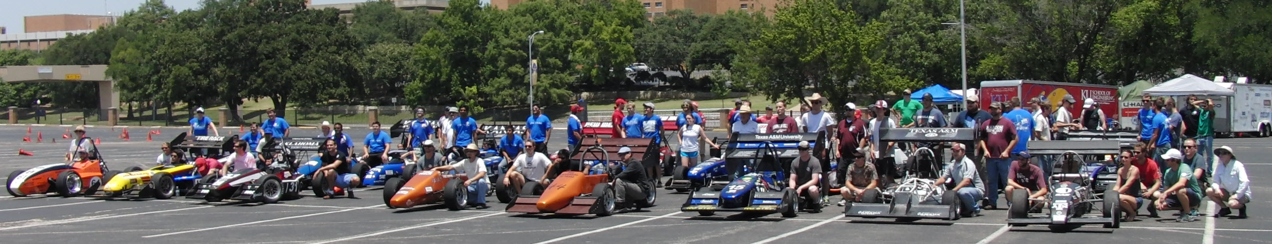 UTA's FSAE Texas Autocross Weekend 2014 Supported by SolidWorks VAR GoEngineer