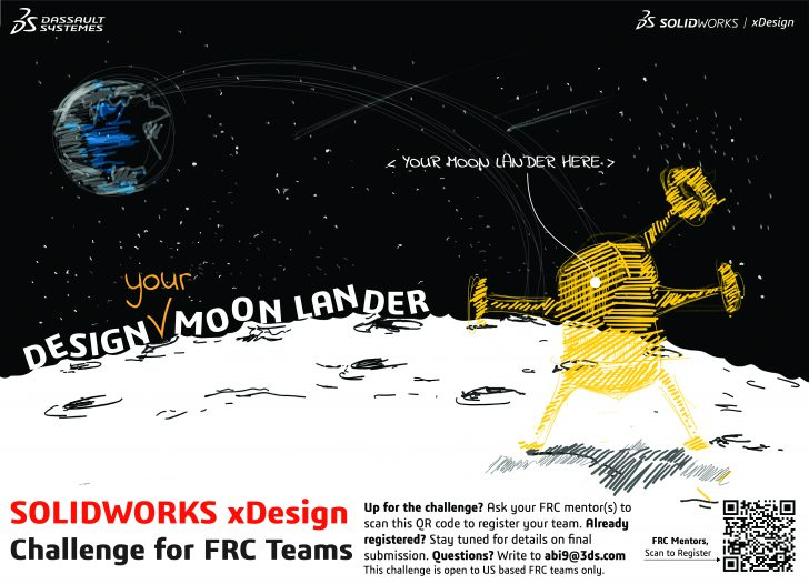 SOLIDWORKS xDesign Challenge for FRC Teams Theme Reveal!