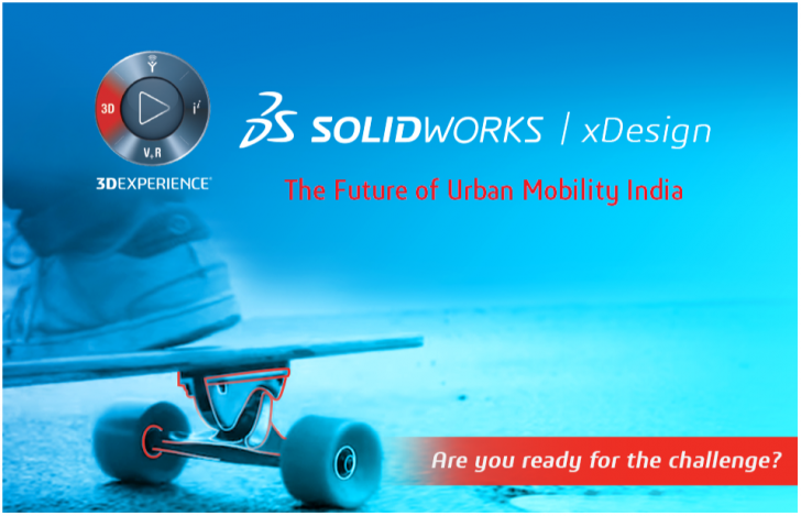 SOLIDWORKS xDesign Challenge for India – The Future of Urban Mobility India