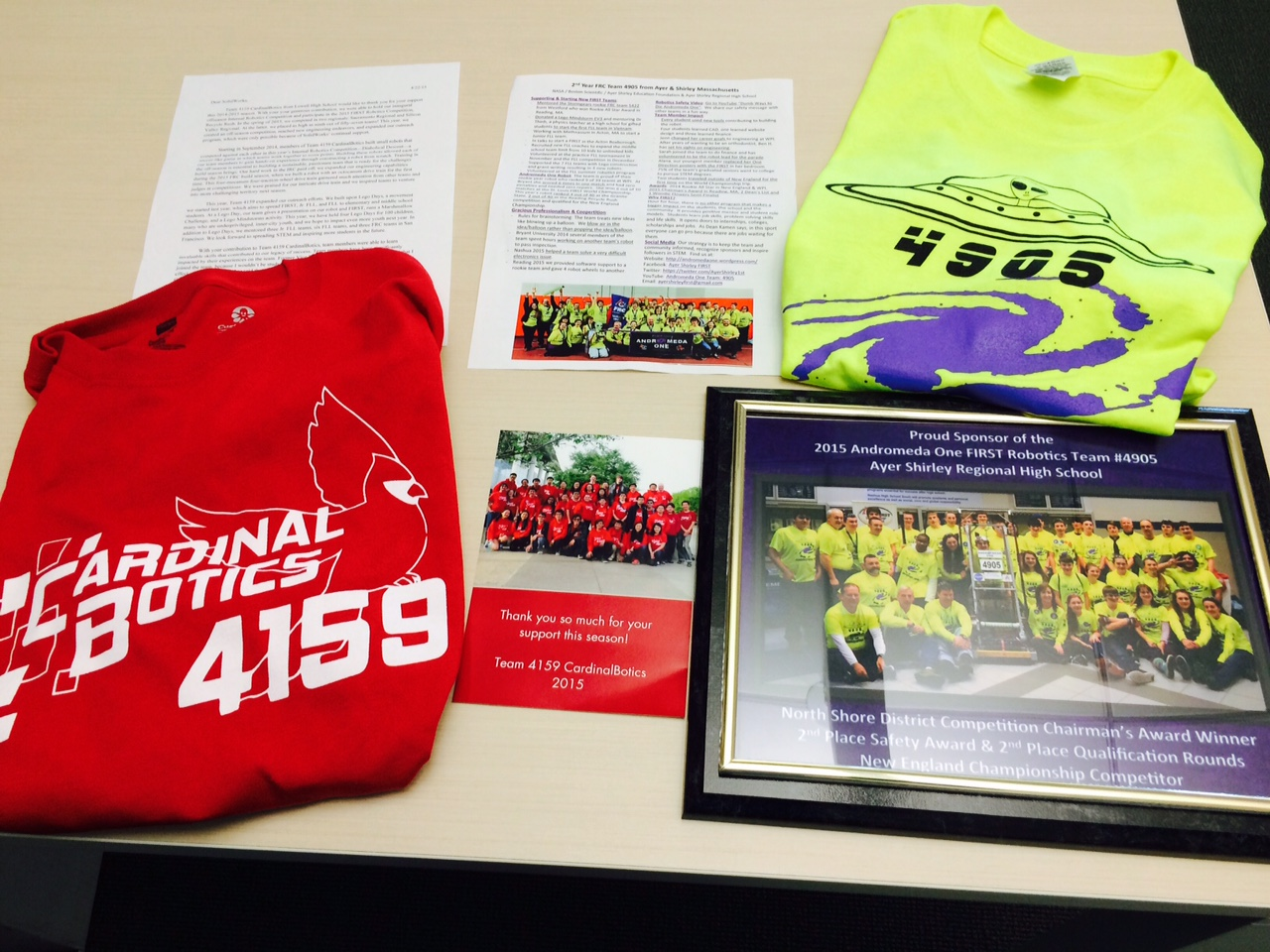 Solidworks Sponsorship For First Robotics Teams Ftc Wiring Diagram Tshirts And Letters From Frc