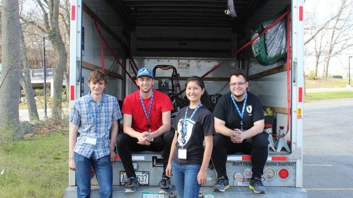 TUFTS Racing Team at the Formula Hybrid International Competition