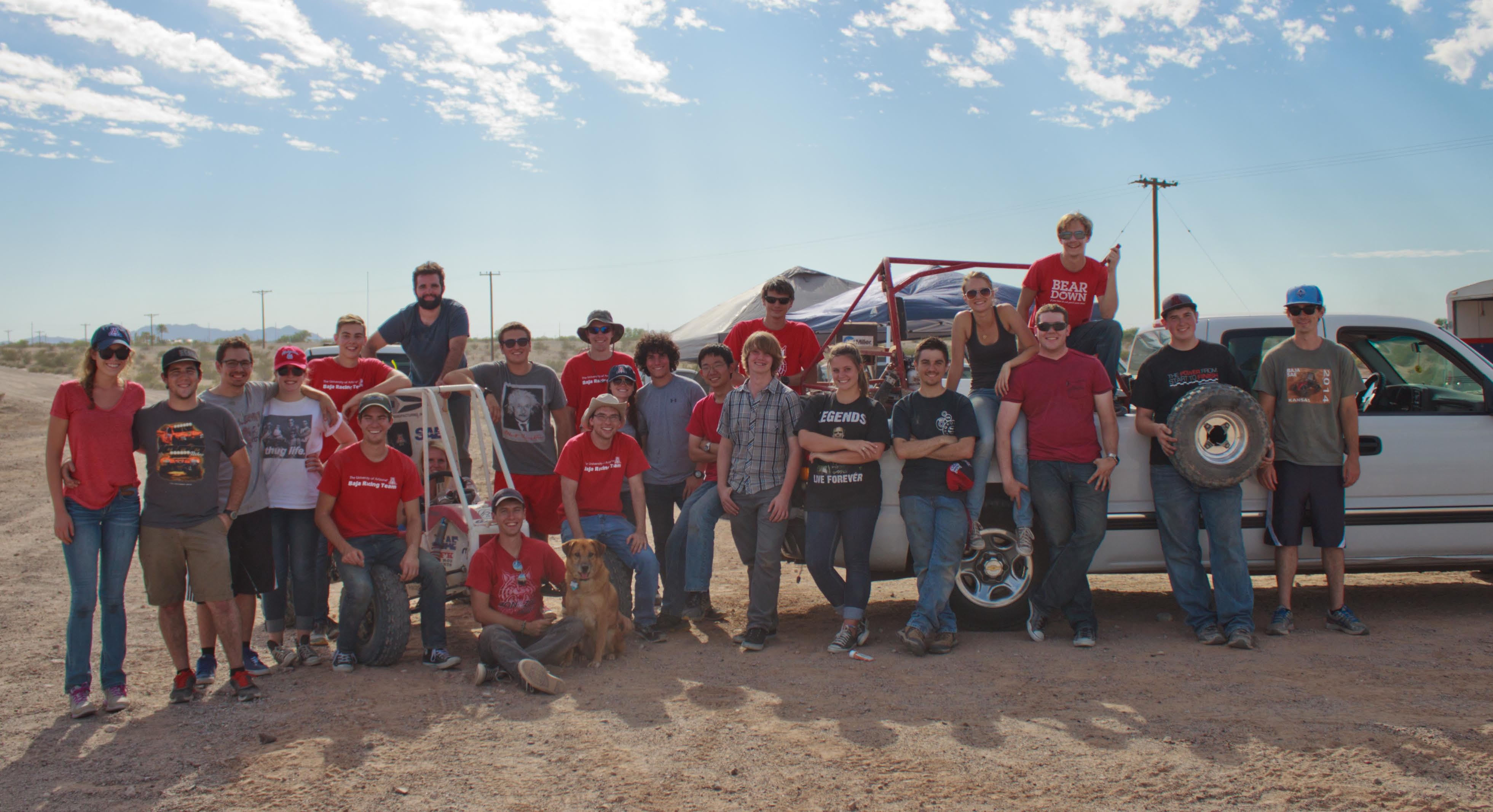 University of Arizonia BAJA SAE Team Featured at SOLIDWORKS WORLD