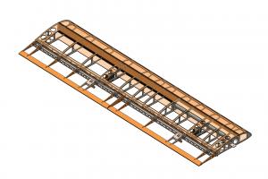 Wing SolidWorks Model NC State Aero Robotics