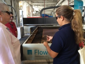 Workshop for Warriors Flow Waterjet