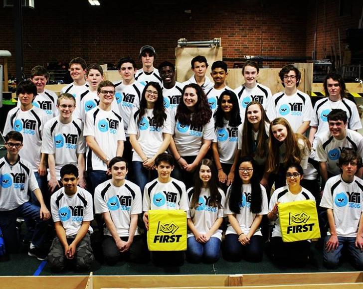 FIRST Comes First: Team YETI, Queen City Robotics Alliance, and TPM, Inc.