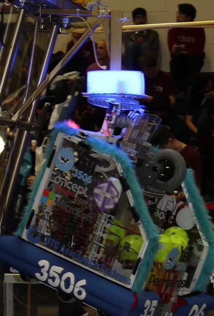 YETI's 2017 FRC Robot, PermaFrost
