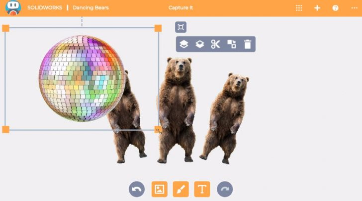SOLIDWORKS Apps for Kids How-To: Duplicate, Scale, Rotate, and Delete Items in Capture It