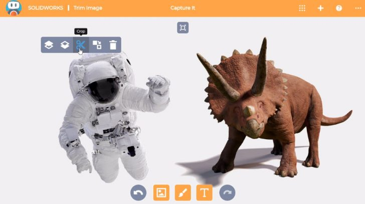 SOLIDWORKS Apps for Kids How-To: Trim an Image