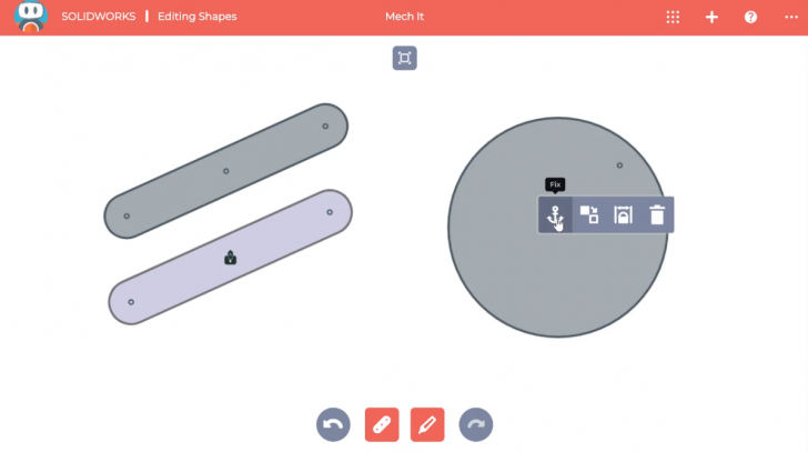 SOLIDWORKS Apps for Kids How-To: Editing Shapes