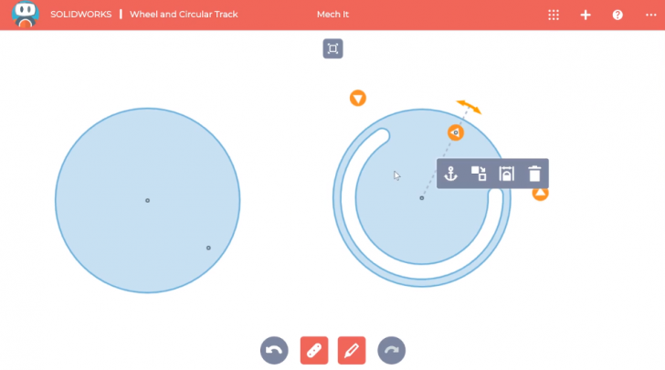 SOLIDWORKS Apps for Kids How-To: Wheels and Circular Tracks