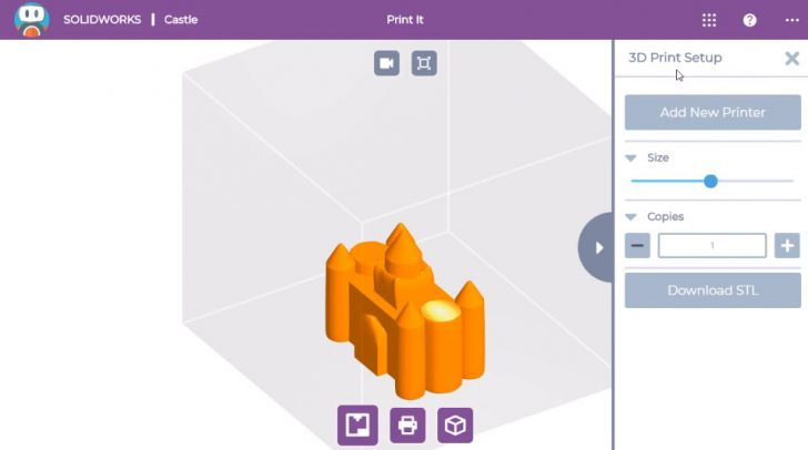 SOLIDWORKS Apps for Kids How-To: 3D Print a Shape It Creation