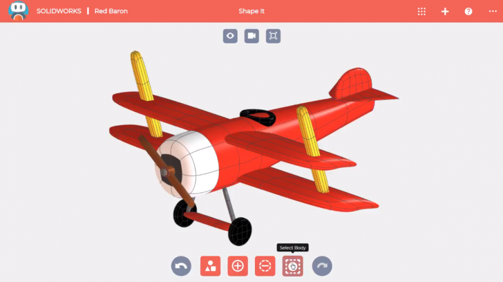SOLIDWORKS Apps for Kids How-To: Selecting Bodies