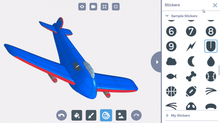 SOLIDWORKS Apps for Kids How-To: Style a Plane
