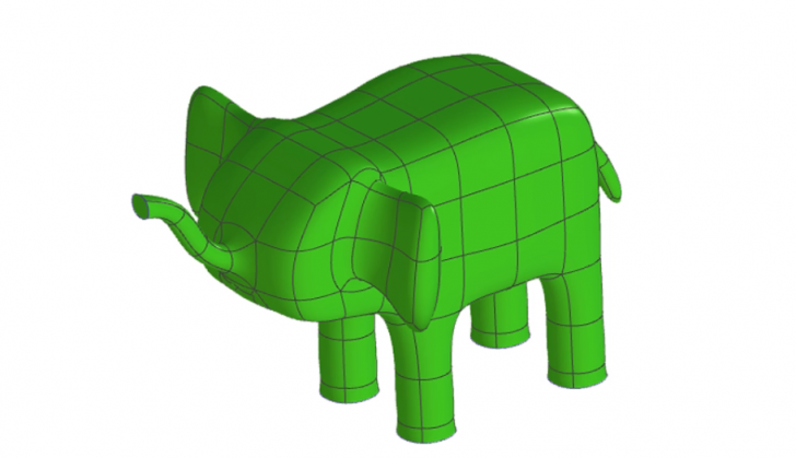 SOLIDWORKS Apps for Kids How-To: Shape an Elephant