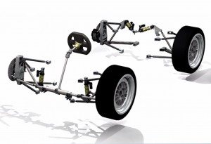 Car Chassis Assembly