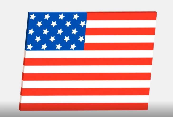 Learn how to create a flag for this July 4th holiday with SOLIDWORKS Apps for Kids
