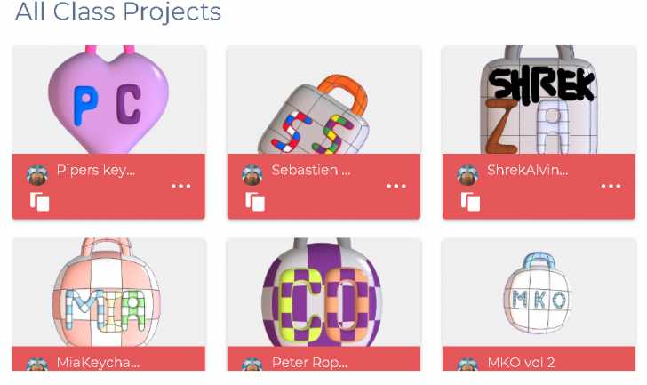 6th Graders Discover 3D Modeling with SOLIDWORKS Apps for Kids Classroom
