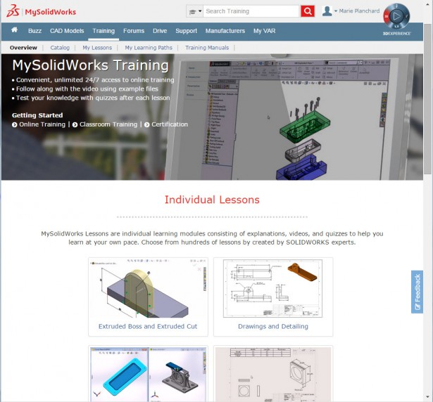 my solidworks training