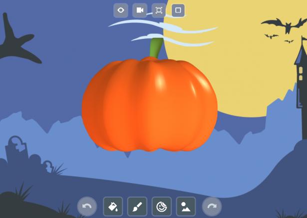 October Pumpkin on SOLIDWORKS Apps for Kids