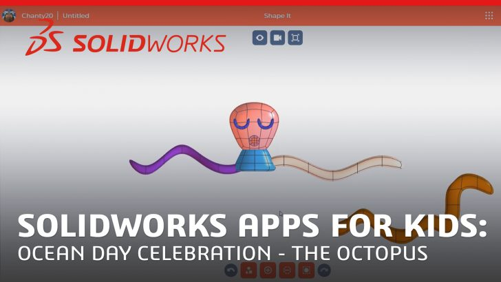 Ocean Day Tutorial with SOLIDWORKS Apps for Kids