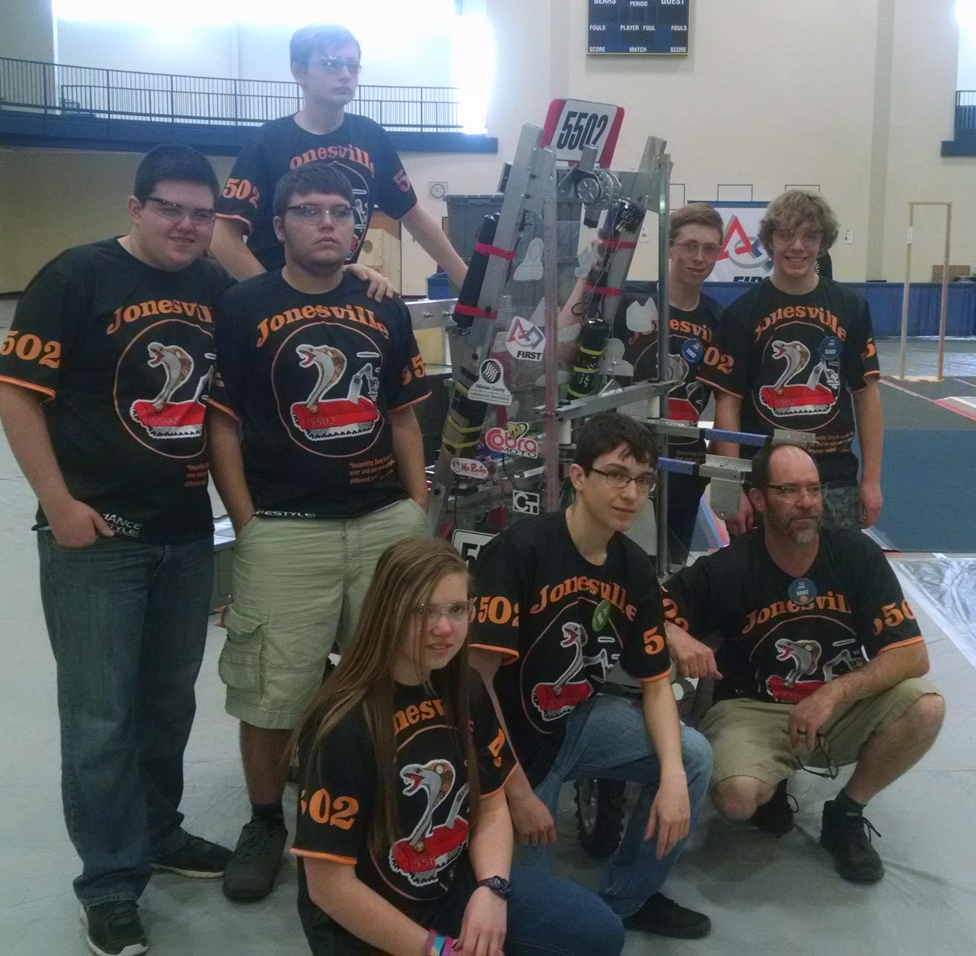 Cobra MOTO Mentors Jonesville HS Robot Team – More than just the Robot