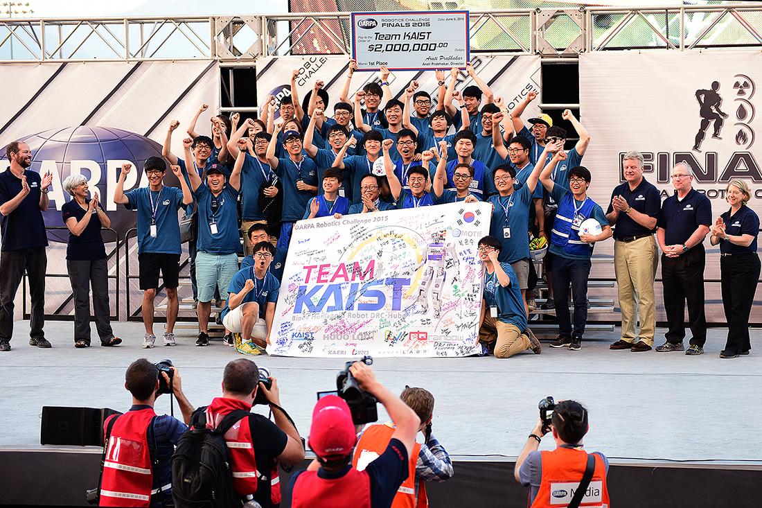 Kaist Wins Darpa Robotics Challenge
